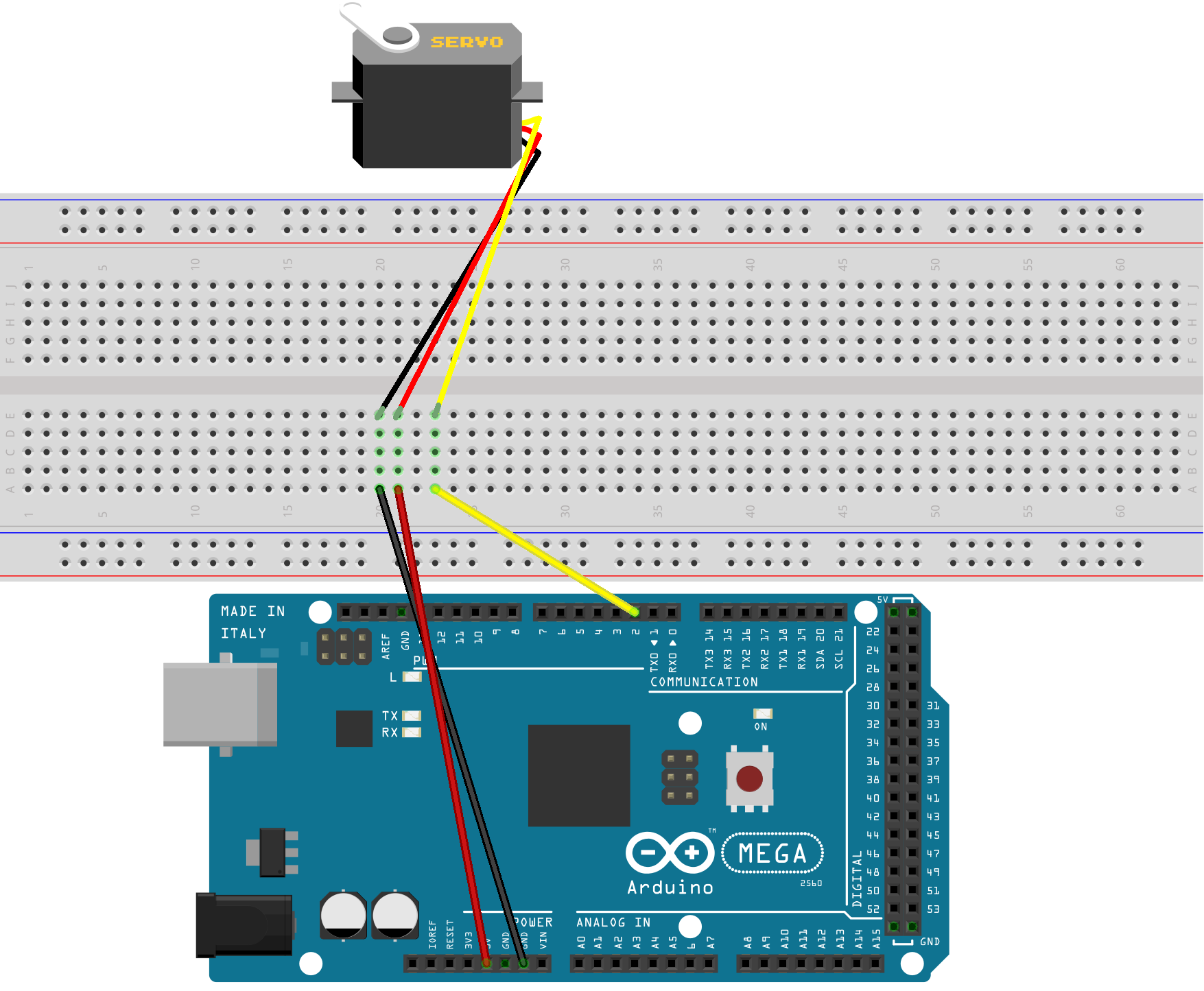 Activity 11 - Servo and Ultrasonic Sensor