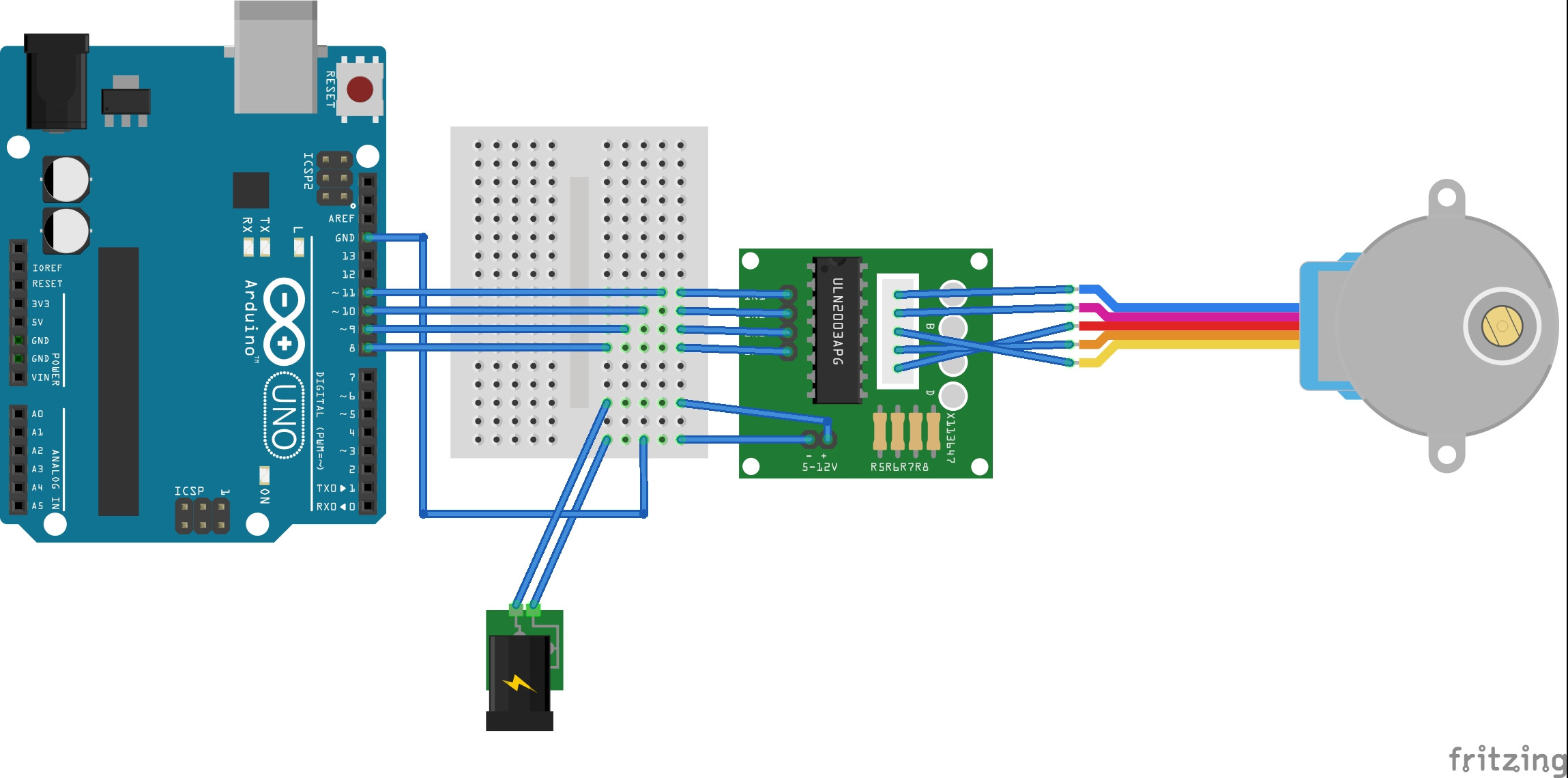 Stepper motor stepper motor internet of things (iot) Single Phase Motor Wiring Diagrams at reclaimingppi.co